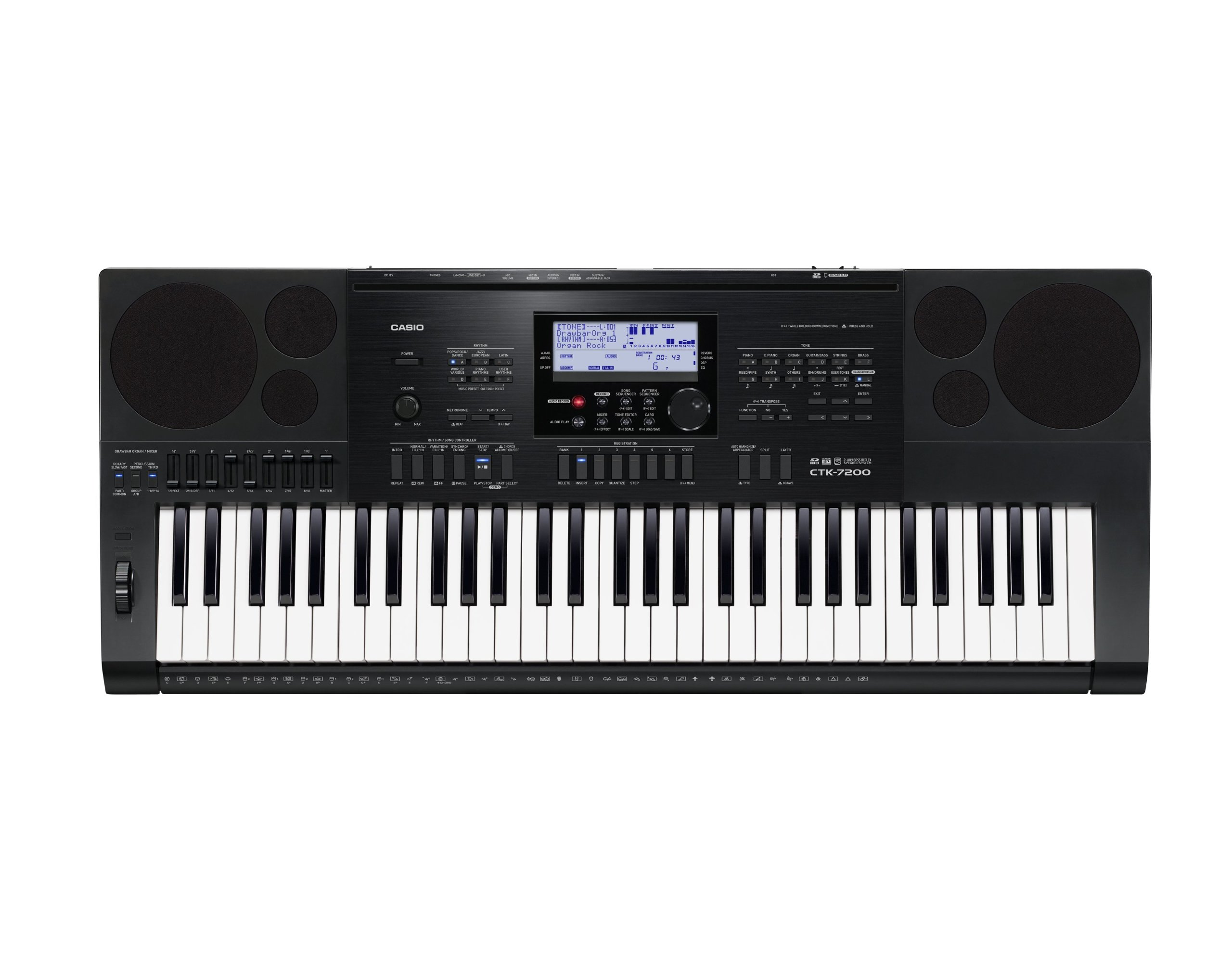 Casio WK 7600 vs casio ctk 7200