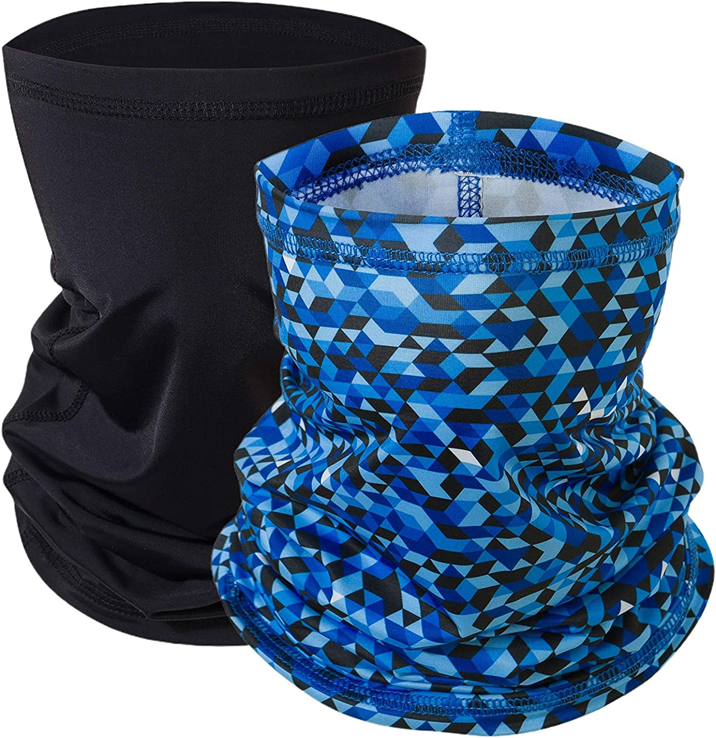 Balaclava Neck Gaiter Scarf Cooling Sports Bandana Face Cover UV Wind Protection Outdoor