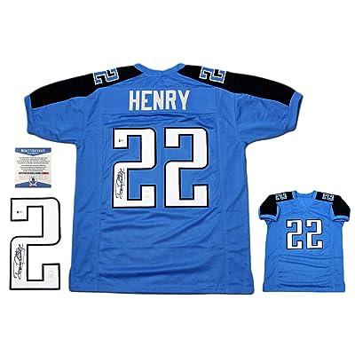 6509e0c1 Derrick Henry Autographed Jersey - Beckett Authentic - PB ...