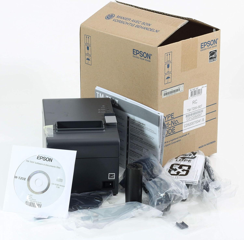Epson TM-T20II (007) - Impresora de tickets para POS, Térmico, 200 ...