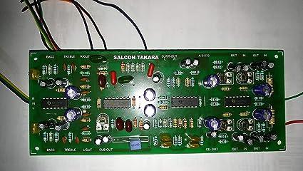 Salcon Electronics Hi-Fi 5 1 Prologic Decoder PreAmp Kit Audio Board Home  Theatre