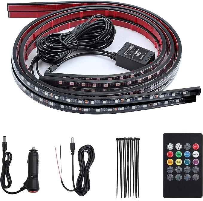 Set di 8 cavi di prolunga da 90 cm per luci a LED da moto Justech