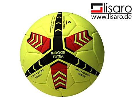 Indoor de balón de fútbol/Lisaro Indoor Real valurleder: Amazon.es ...