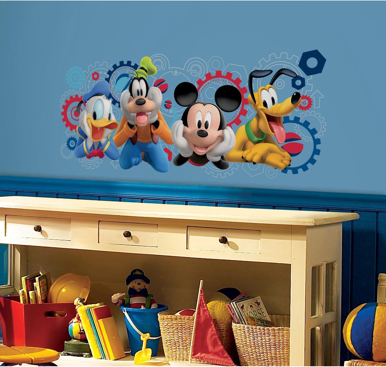Walltastic 45781 Wandaufkleber Mickey und seine Freunde Wall Stickers Goofy