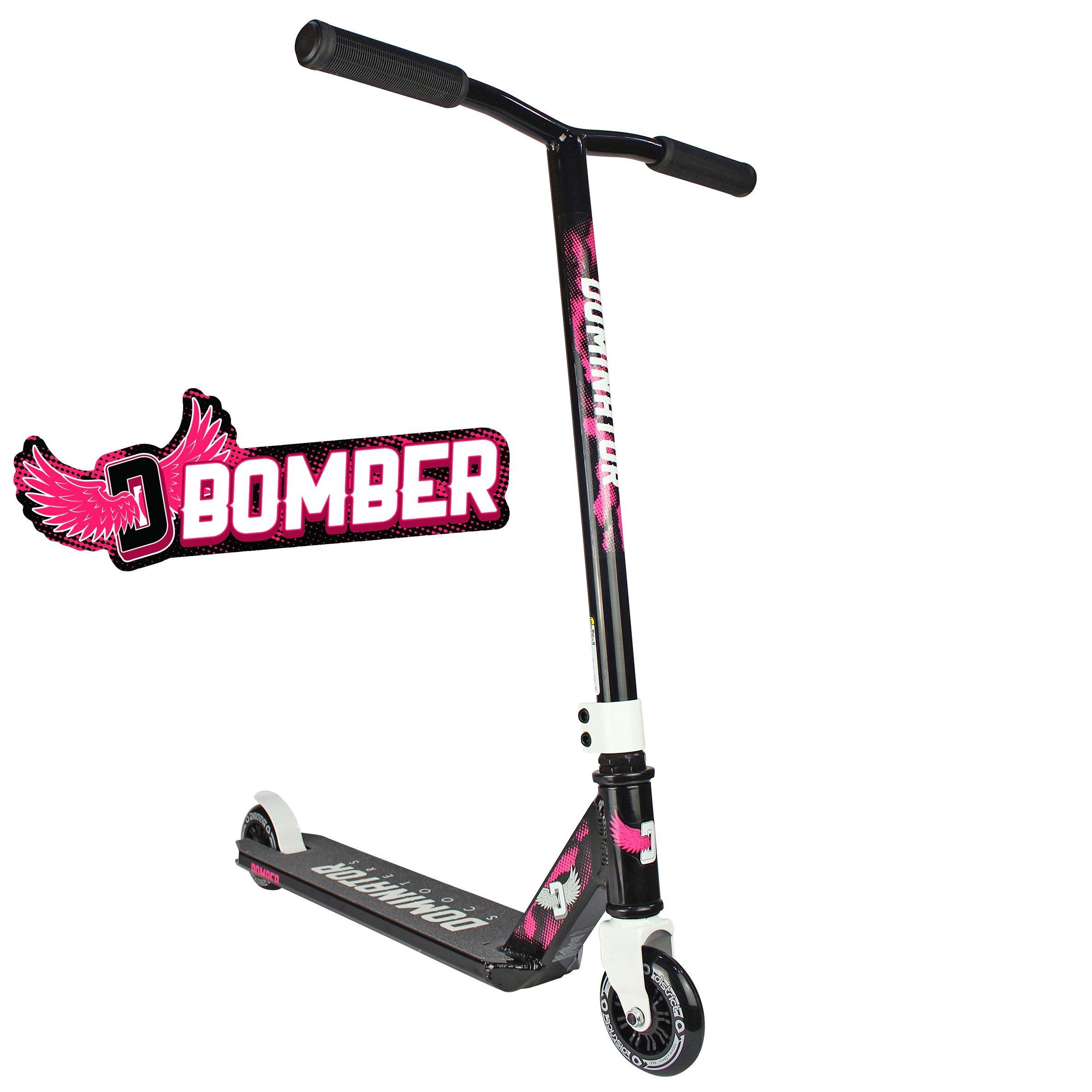 Dominator Bomber Pro Scooter (Black/Pink)