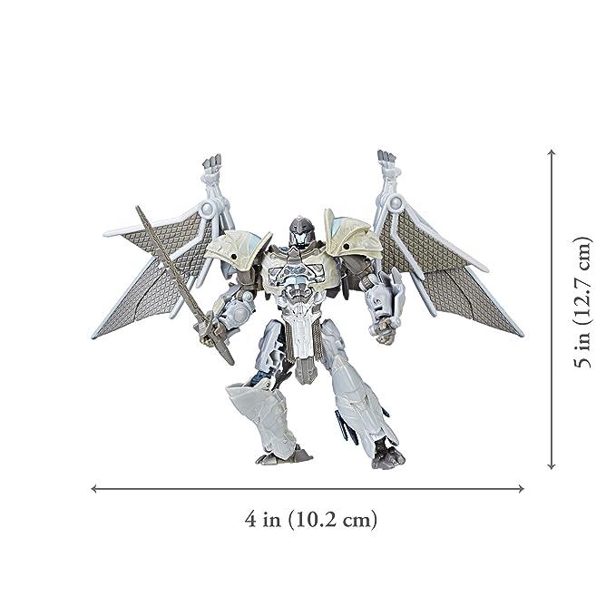 Transformers: The Last Caballero Premier Edition Deluxe steelbane: Amazon.es: Juguetes y juegos