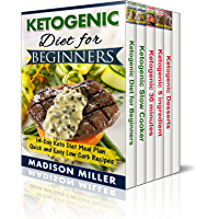 Ketogenic Diet Box Set 5 Books in 1: Vol. 1: Ketogenic Diet for Beginners; Vol. 2: Slow Cooker Recipes; Vol. 3: 5…