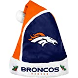 95a5fef6004 Forever Collectibles 2015 NFL Football Team Logo Holiday Plush Basic Santa  Hat - Pick Team