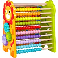 Toysters Wooden Math Beads and Alphabet Abacus Deals