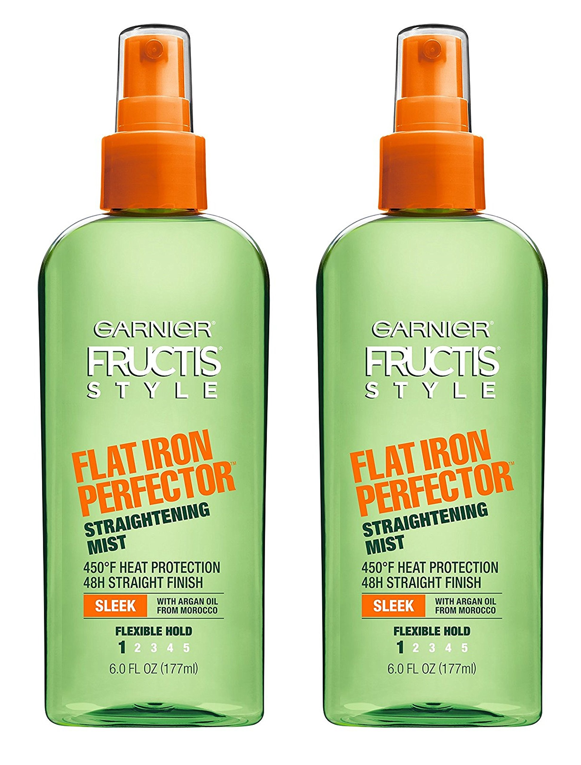 Garnier Fructis Style Sleek & Shine Flat Iron Perfector Straightening Mist 24 Hour Finish 6