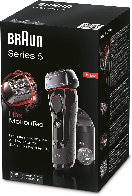 Braun Máquina de afeitar Rasierer 5-5050cc + 2 ...