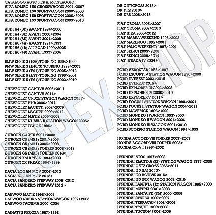 BARRE PORTATUTTO PORTAPACCHI HERCULES AUTO 120CM PER DR CITYCROSS 14/>.-\\