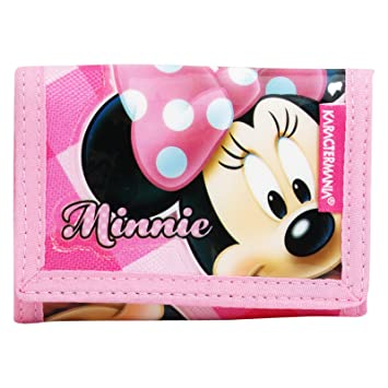 Disney Minnie Infantil Billetera Monedero Bolsillo V: Amazon ...