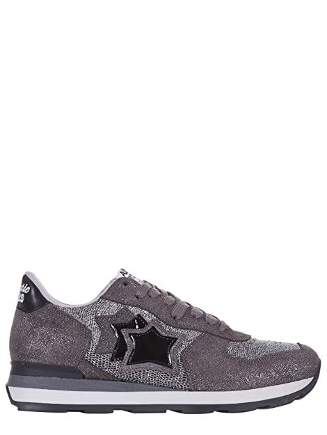 Atlantic Stars Zapatillas de Ante Para Mujer Plateado Plateado Plateado Size: 38: Amazon.es: Zapatos y complementos