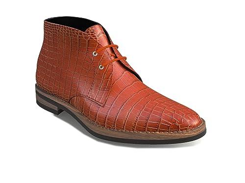 DIS - Mo zapatos - botas de desierto - Hombre, Cocodrilo cuero de la impresión, 39: Amazon.es: Zapatos y complementos