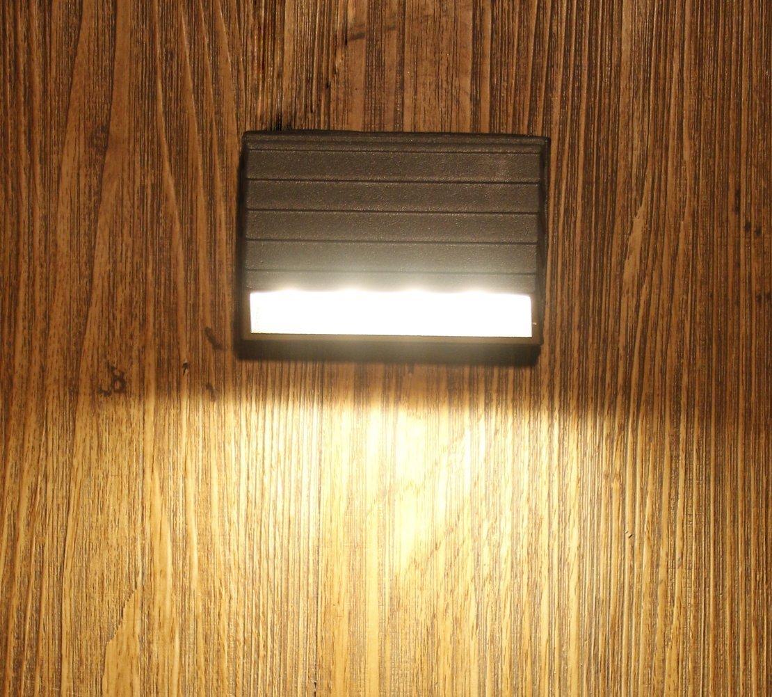Outdoor led Wall Light IP65, Warm white, Grey aluminium die casting body, 1yr Warranty (4)