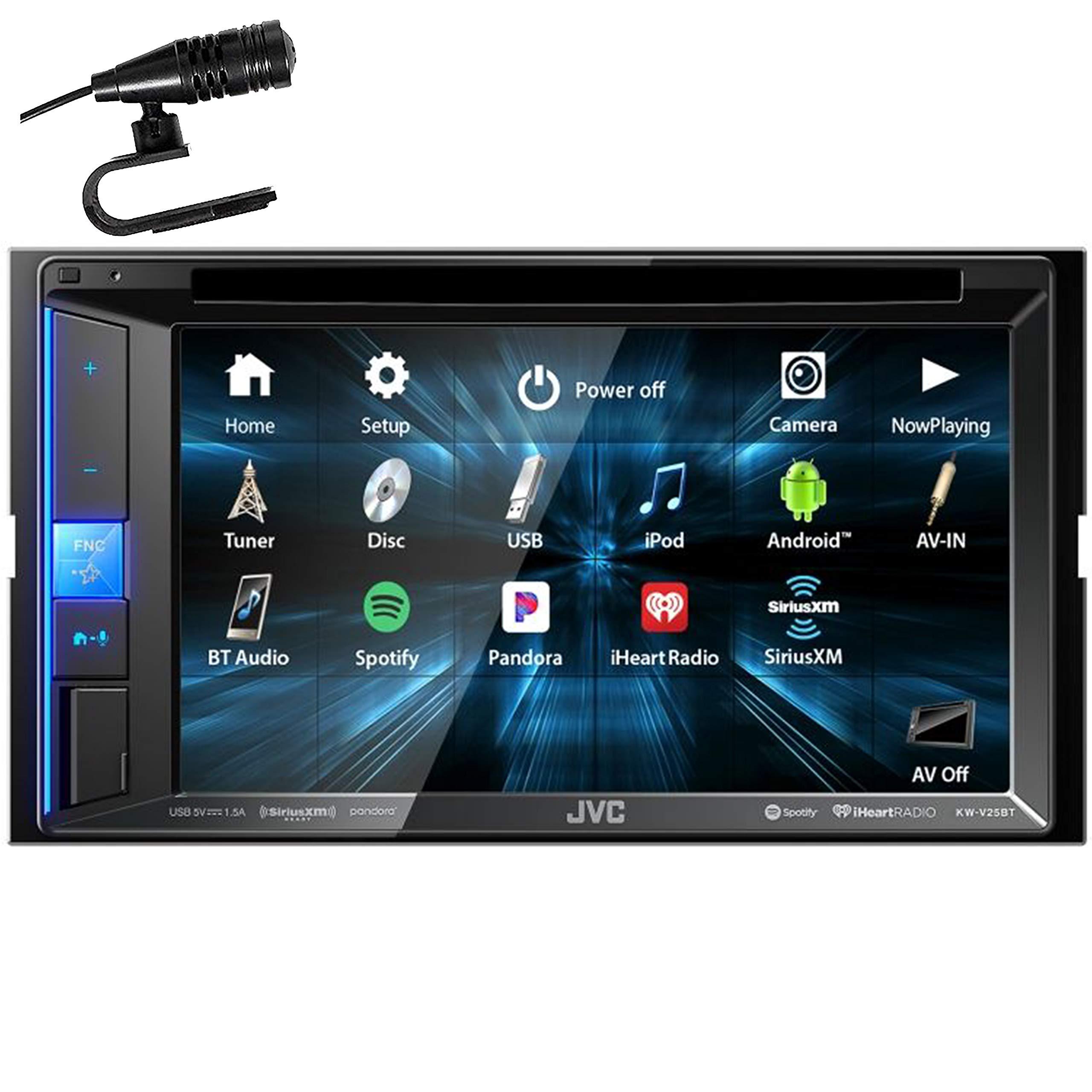 JVC KW-V25BT 6.2'' WVGA Clear Resistive Touch Monitor/Bluetooth / 13-Band EQ by JVC