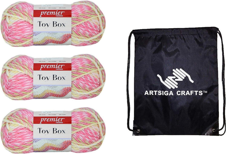 Premier Yarns 1056-01 Toy Box Yarn-Baby Doll