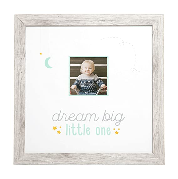 Rustic Kate /& Milo Shine Bright Wall Frame Woodland Nursery D/écor