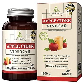 Amazon Com Isle Revive Premium Apple Cider Vinegar Pills 1300mg
