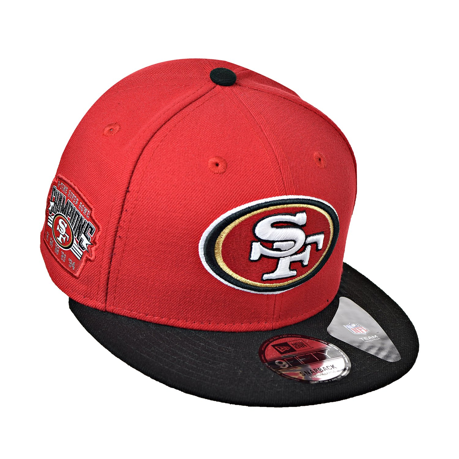 109c7ffe8cb Amazon.com  New Era San Francisco 49ers Victory Side 9FIFTY Adjustable Snapback  Hat Cap  Sports   Outdoors