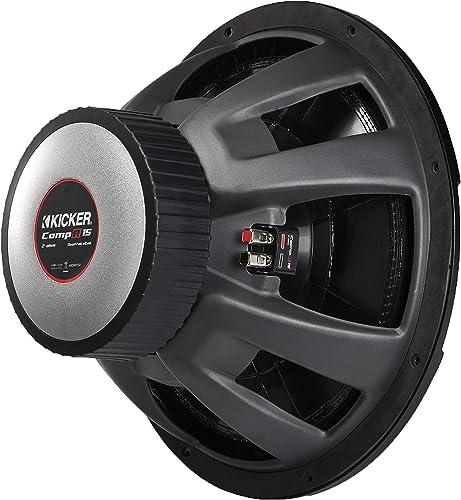 """Kicker 43CWR84 Compr 8"""" 4 Ohm Dual Voice Coil Car Audio Subwoofer review"""
