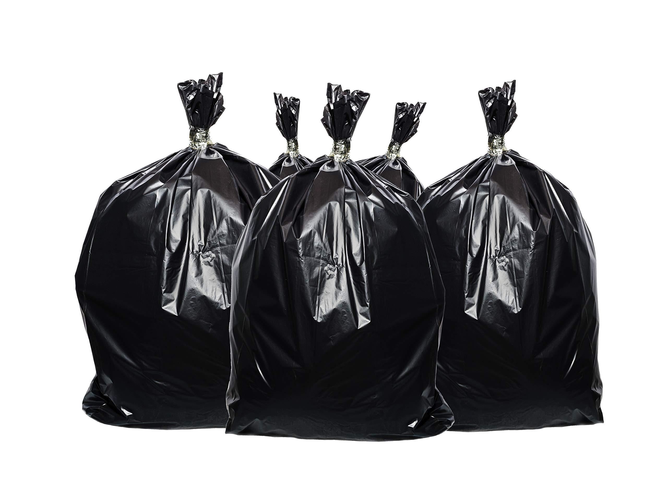 Toughbag 95 Gal Trash bags, Black, 2 Mil, 61x68, 25 Garbage Bags Per Case by ToughBag (Image #7)