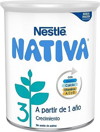 Nestlé NATIVA 3 Leche de crecimiento en polvo, fórmula ...