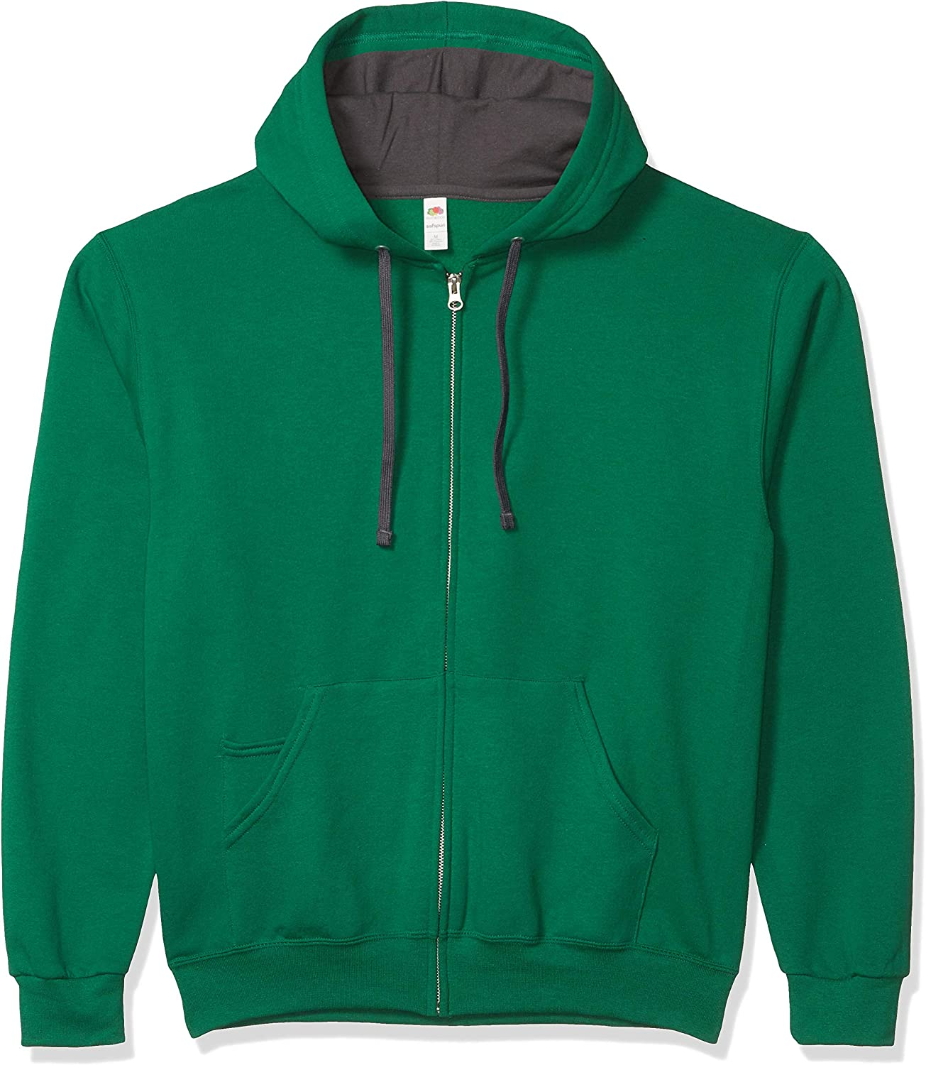Fruit of the Loom Men's Full-Zip Hooded Sweatshirt
