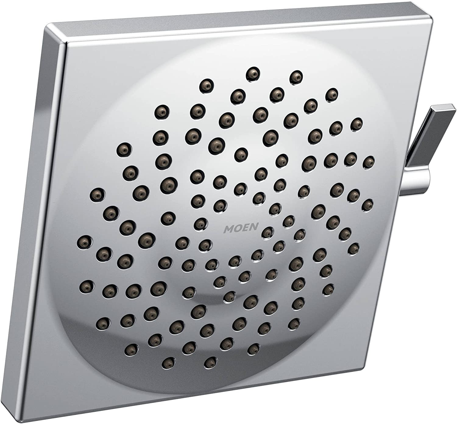 Moen S6345 Velocity Two-Function 8.5-Inch Diameter Spray Rainshower Showerhead, Chrome
