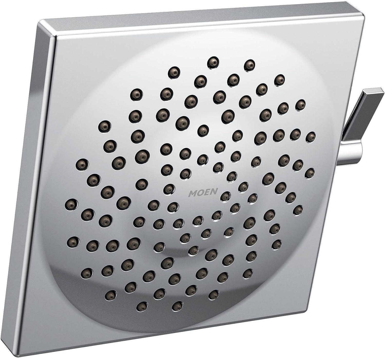 Moen S6345 Velocity Two-Function 8.5-Inch Diameter Spray Rainshower Showerhead, Chrome