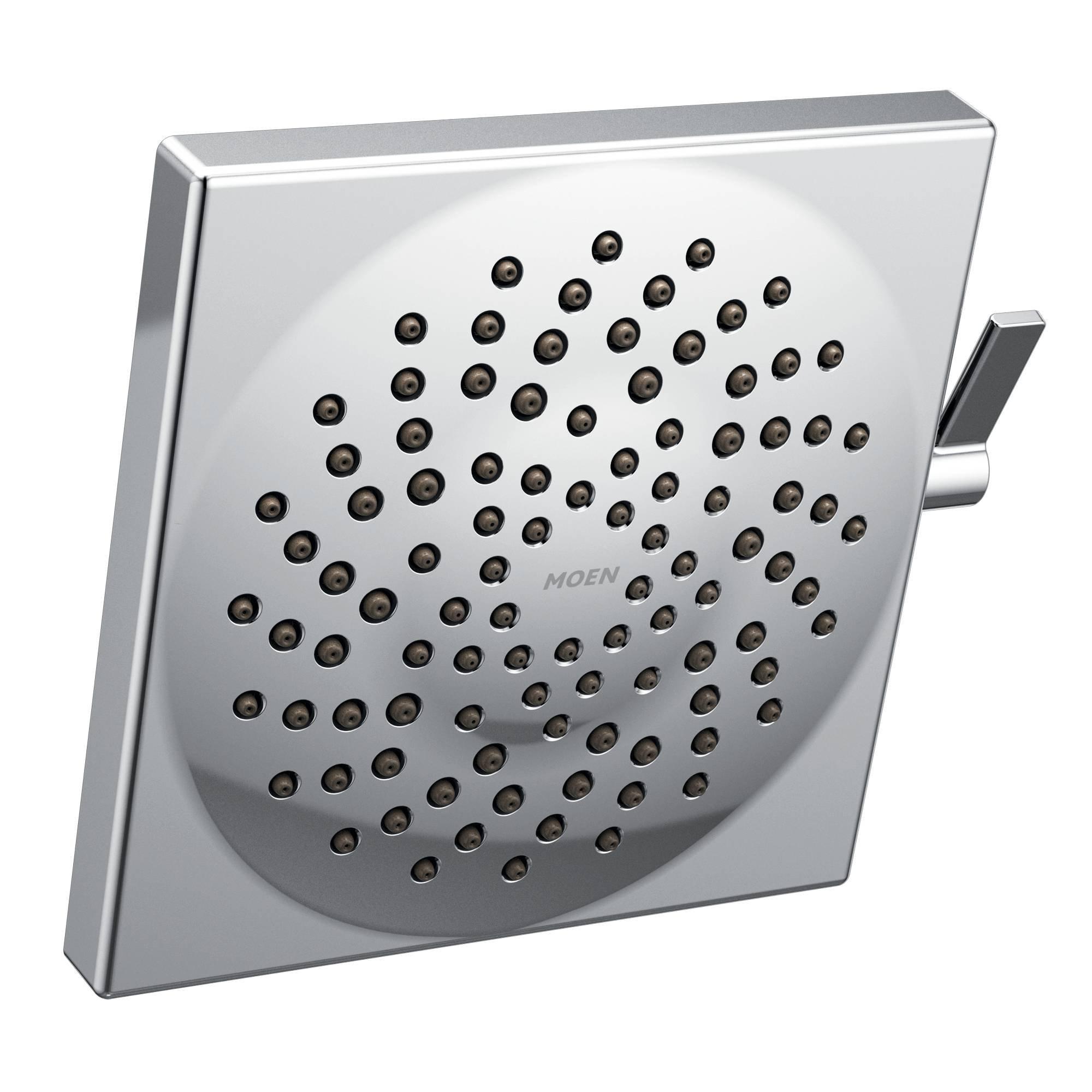 Moen S6345 Velocity Two-Function 8-1/2-Inch Diameter Spray Rainshower Showerhead, Chrome by Moen (Image #1)