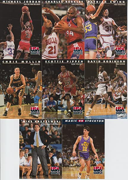 new style 74feb e3162 1992 SkyBox USA Basketball 8 Card Lot Michael Jordan  9, 26, 45, 63, 66,  74, 95, 110 at Amazon s Sports Collectibles Store