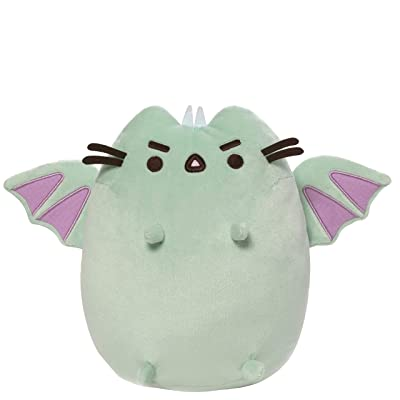 "GUND Pusheen Dragonsheen Plush Stuffed Dragon, 9"", Multicolor: Toys & Games"