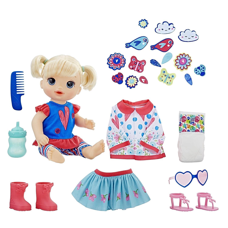 Baby Alive So Many Styles Baby (Blonde Straight Hair) Hasbro Inc. E2101