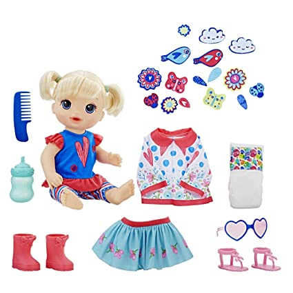 Buy Baby Alive Many Styles Blonde Baby Doll Online at Low Prices in India -  Amazon.in 2919f48d15