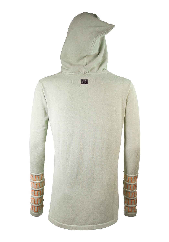 Musterbrand Zelda Su/éter con Capucha Hombre Hyrule Unisex Knit Pullover Sweatshirt Sweater Shirt Hood Light Green