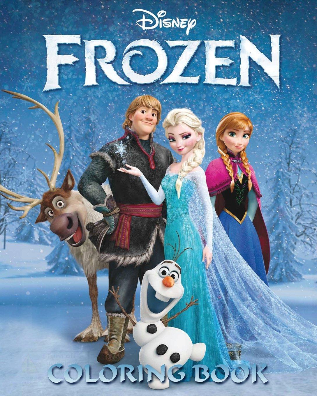 - Disney Frozen Coloring Book: Coloring Book: Lawrence, Jim