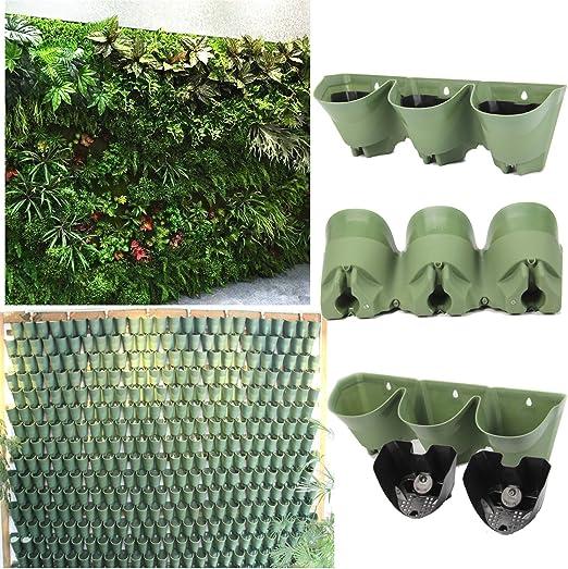Sistema de riego automático vertical Planter, macetas de pared ...