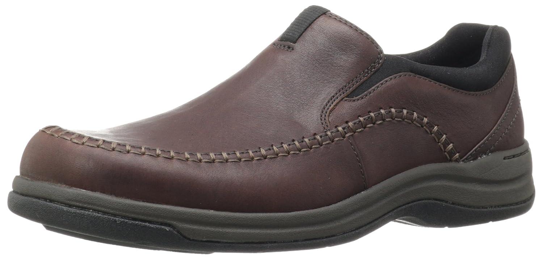 Amazon.com | CLARKS Men's Portland 2 Easy, Brown Leather, 8 D-Medium |  Loafers & Slip-Ons