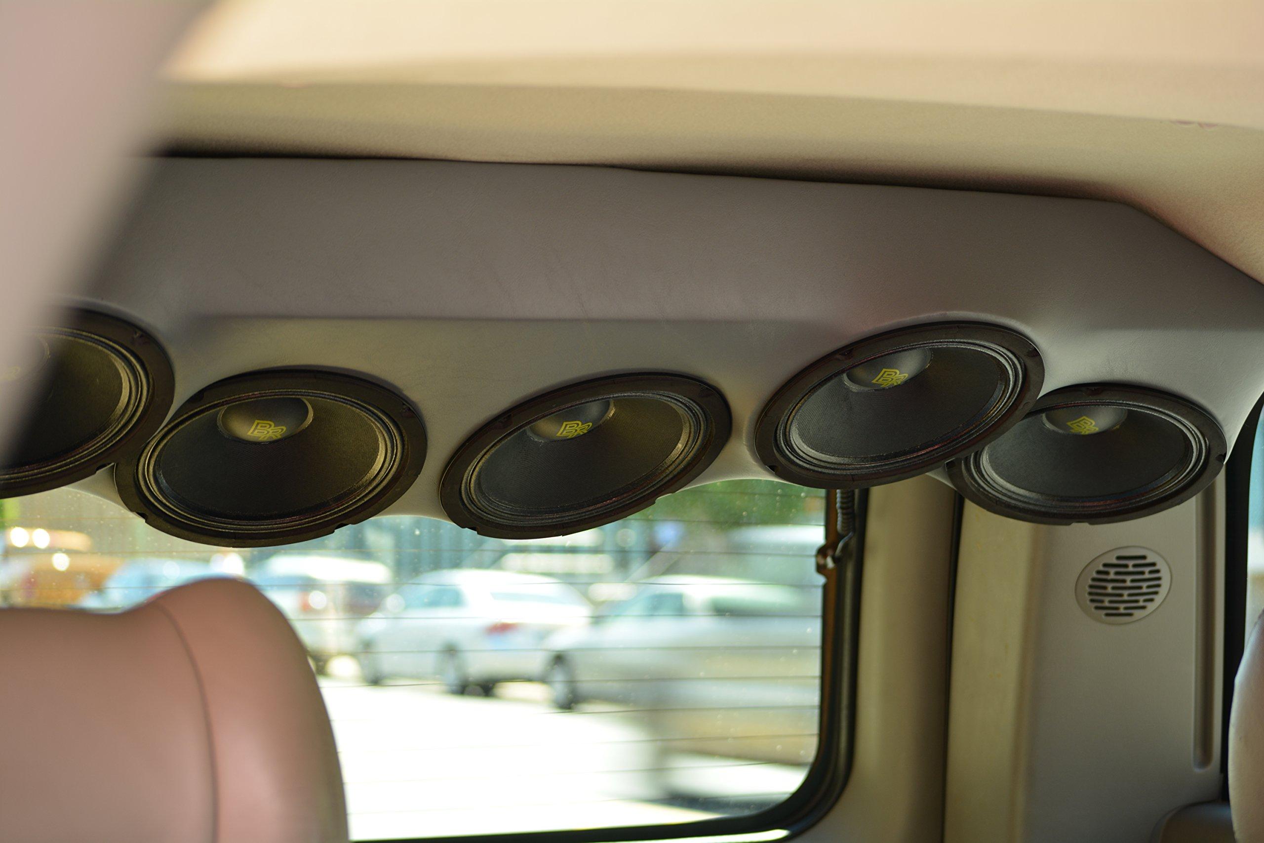 Bass Rockers 6.5'' 300W Closed Basket Mid-Range Speaker (BRM6C) by Bassrockers.net (Image #6)