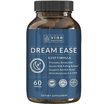 Amazon.com: Dream facilidad Natural Sleep Aid – Promueve la ...