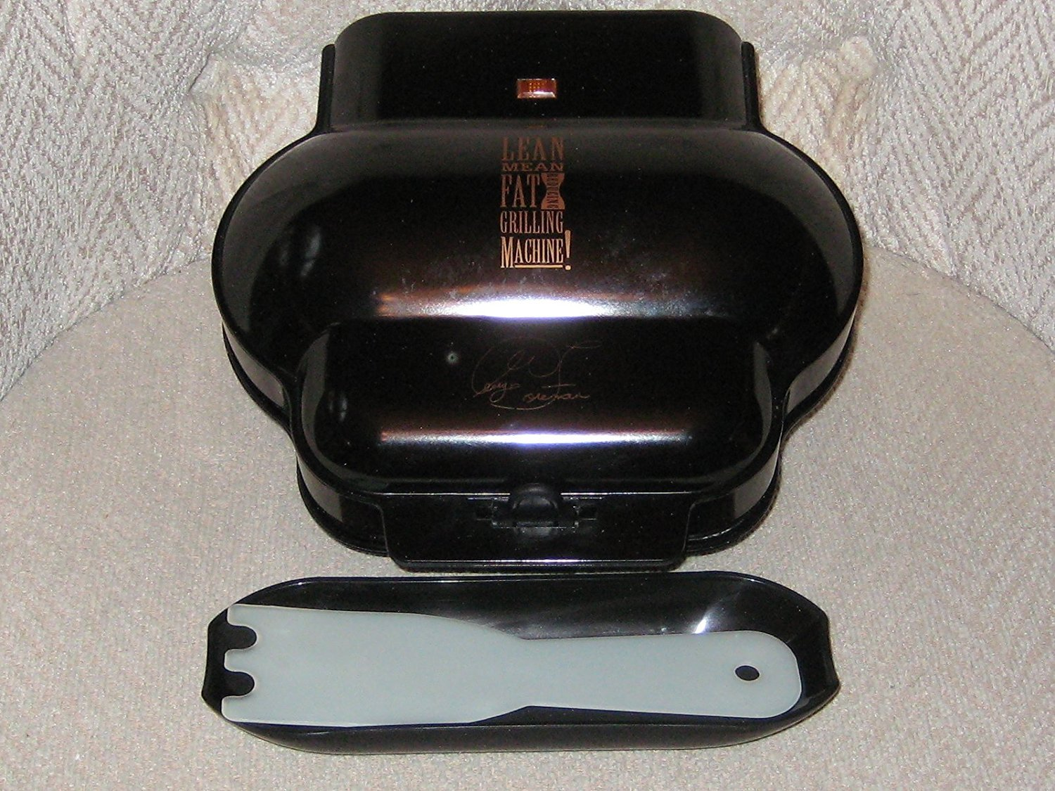 George Forman Lean Mean Fat Reducing Grilling Machine Kitchen ...