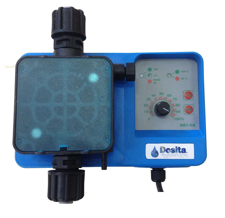 Bomba dosificadora electromagné tica analó gico a dosificació n constante con alcance ajustable para dosificació n lí quidos Modelo me1-ca –  10 l/h @ 4 bar 230 VAC, Cabecero PP con ten