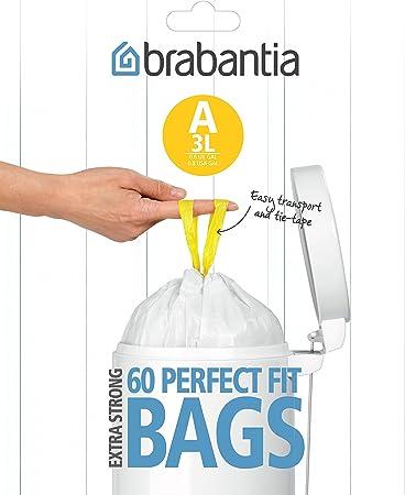Amazon.com: Brabantia Smartfix – Bolsas de basura con ...