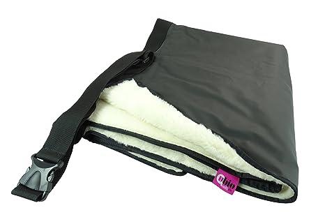 Manta térmica impermeable y termorregulable para silla de ruedas, 90 x 105 cm