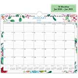 "2020-2021 Wall Calendar,18 Monthes Academic Monthly Desk Calendar Planner, Twin Wire Hanger, 15"" x 11.5"""