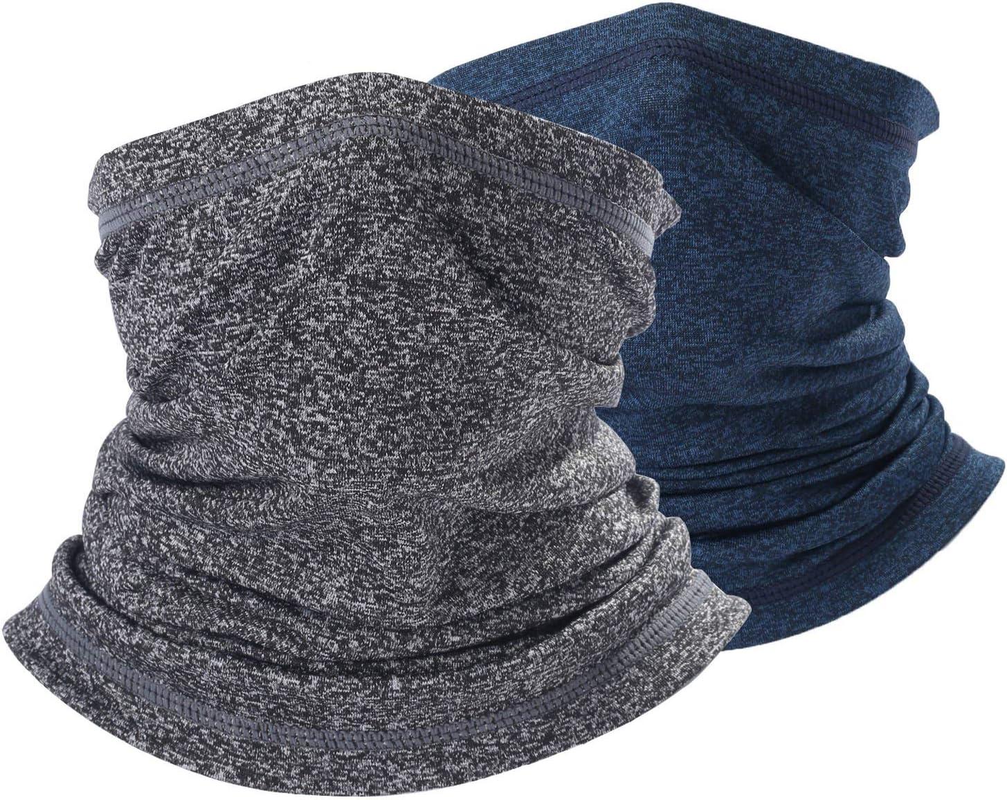 Noir coupe-vent Decams Cache-cou multifonctionnel pour pompiers pour toute lann/ée protection UV Respirant