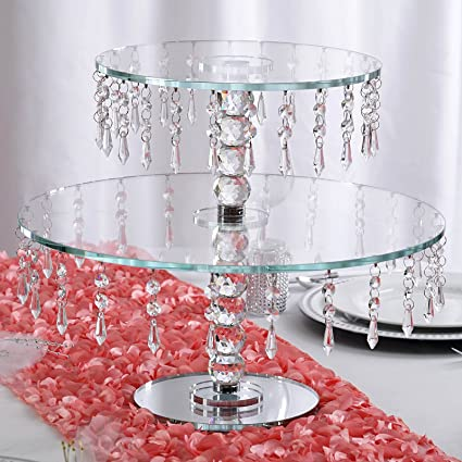 Amazon Efavormart 16 Handcrafted Round Crystal Glass