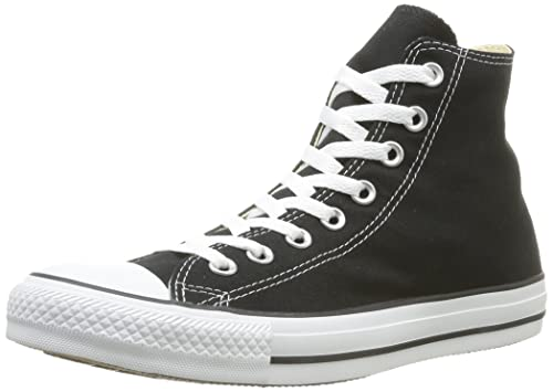 Gents All Stars Converse Nero Taglia UK 7